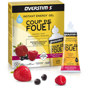 OVERSTIM.s Coup de Fouet Liquid Gel confezione 10x30g, Red Berries